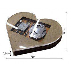 Hive heart (Batteri ingår EJ!)