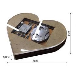 Srdce úľa s batériou